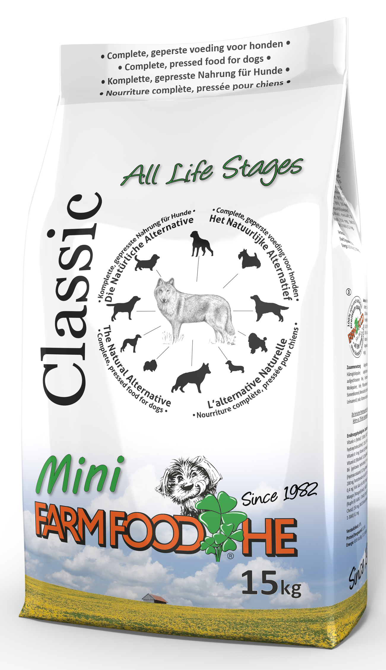 Afbeelding voor product Farm Food H.E. Classic Puppy&Mini