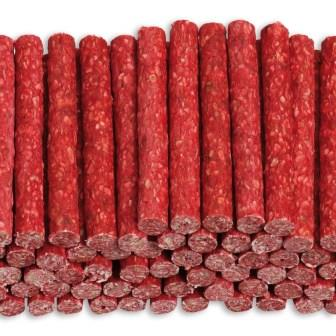 Afbeelding voor product Crunchy munchy stick 10'' 20mm rood